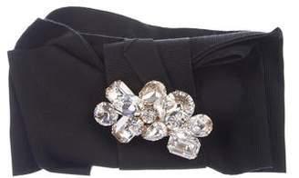 Dolce & Gabbana Embellished Oversize Waist Belt
