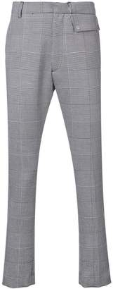 Cmmn Swdn Prince of Wales check trousers