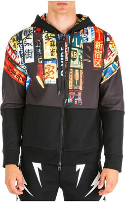 Neil Barrett Hoodie Sweatshirt Sweat Slim Fit Shinjuku Soho