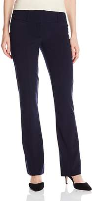 My Michelle Junior's Career Pant with Hidden Front Buttons and Elastic Mesh
