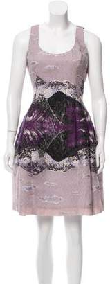 Prabal Gurung Jacquard A-Line Dress