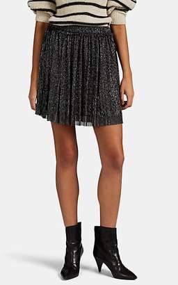 Etoile Isabel Marant Women's Benedicte Metallic Mesh Miniskirt - Dark Gray