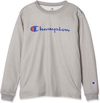 Champion (チャンピオン) - [チャンピオン] キッズ プラクティスTシャツ バスケットボール オックスフォードグレー 日本 150 (日本サイズ150 相当)