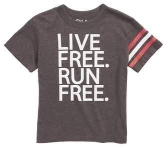 Chaser Live Free Run Free T-Shirt