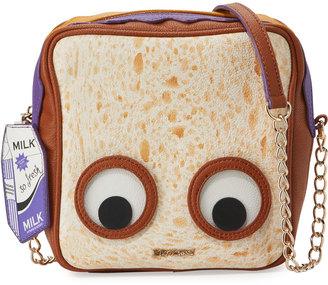 Betsey Johnson Peanut Butter Jelly Crossbody Bag, Multi $65 thestylecure.com