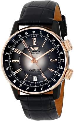 Vostok Europe Vostok-Europe Men's Gaz-Limo Automatic Dual Time Watch 5603061