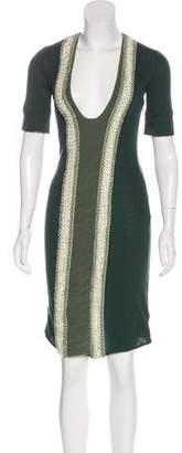 Stella McCartney Embellished Jersey Dress w/ Tags