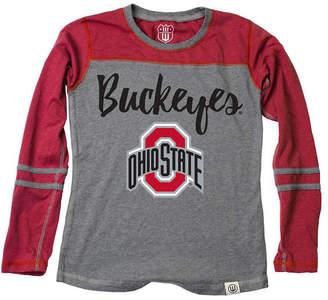 470b81424 Wes & Willy Ohio State Buckeyes Heathered Long Sleeve T-Shirt, Infants (12