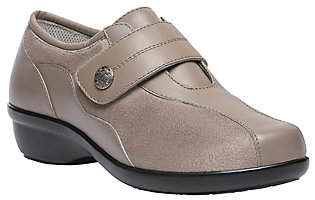 Propet Leather Slip-on Shoes - Diana Strap $100 thestylecure.com