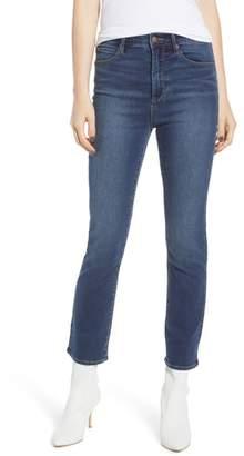 Leith High Waist Crop Flare Jeans