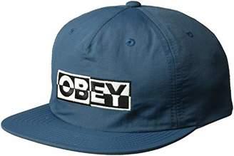 Obey Men's DOWNBEAT Snapback HAT
