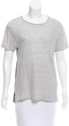 Alexander Wang Linen Striped Top