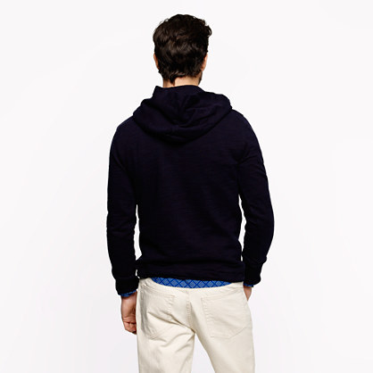 J.Crew Fleece toggle hoodie