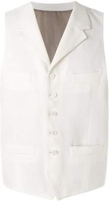 Caruso single-breasted waistcoat