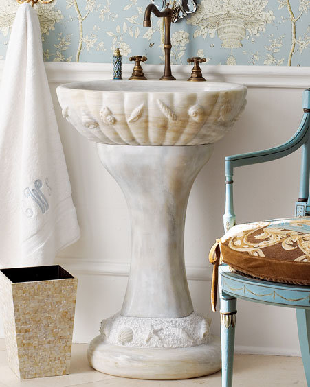 Shell Vanity & Faucet