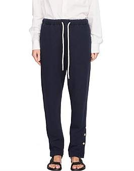 Bassike Button Detail Fleece Trackpant