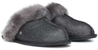 UGG Scuffette II Sparkle wool slippers