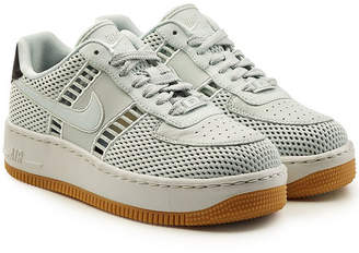 Nike Force 1 Upstep Sneakers with Leather and Suede