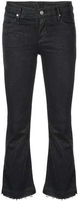 RtA cropped dotted jeans