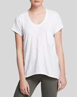 Wilt V-Neck Pocket Tee $95 thestylecure.com