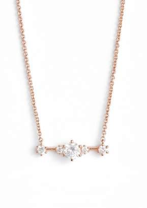 Nadri Edwardian Crystal Bar Necklace