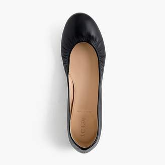 J.Crew Cece Italian-made ballet flats in leather