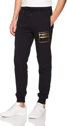 Puma Men's Rebel Gold Sweat Pant Fleece