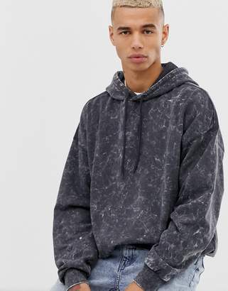 Cheap Monday washed hoodie