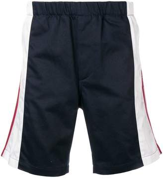 Givenchy contrast stripe shorts