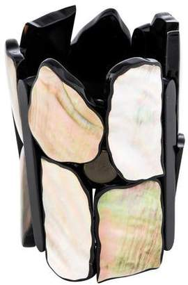 Viktoria Hayman Mother of Pearl Stretch Bracelet