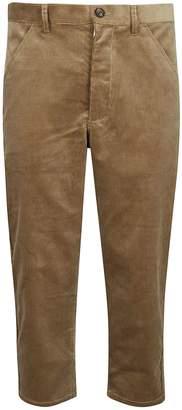 Comme des Garcons Corduroy Cropped Trousers