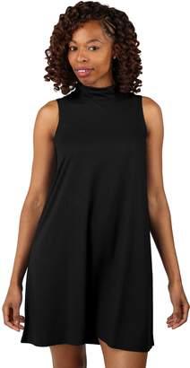 Soybu Women's Frolic Mock Neck Dress
