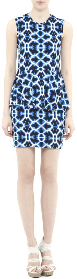 Nicole Miller Cayley Reflecting Pool Jersey Dress