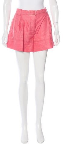 Stella McCartneyStella McCartney Belted Mini Shorts