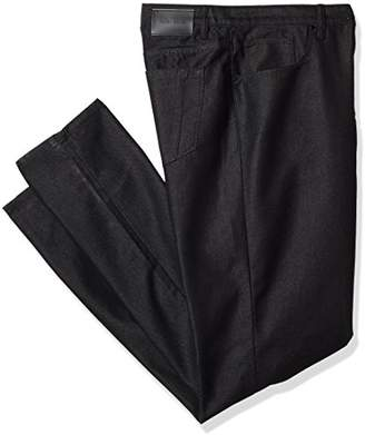 Perry Ellis Big and Tall Dark Indigo Five Pocket Denim-Men's