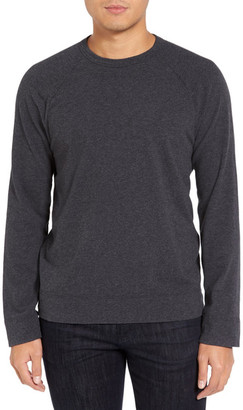 James Perse Long Raglan Sleeve T-Shirt $175 thestylecure.com