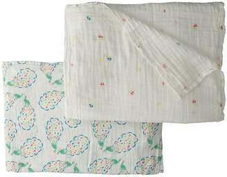 Bebe Au Lait Muslin Swaddles 2-Pack Accessories Travel