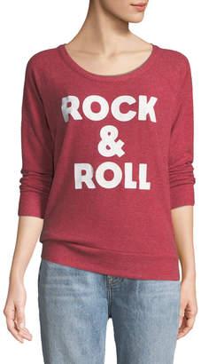 Chaser Rock-&-Roll Open-Back Terry Sweatshirt