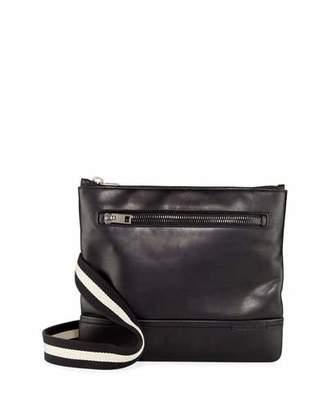 Bally Tosna Men's Leather Crossbody Bag, Black