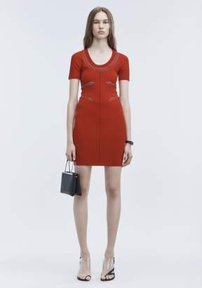 Alexander Wang (アレキサンダー ワン) - Alexander Wang Pierced Mini Dress