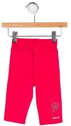 Catimini Girls' Printed Knit Pants