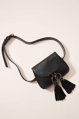 Anthropologie Pheobe Tasseled Belt Bag