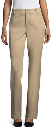ST. JOHN'S BAY Bi-Stretch Straight Bootcut Pants - Tall Inseam 34