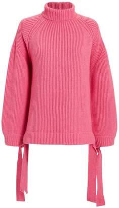 Ellery Wallerian Oversized Pink Sweater