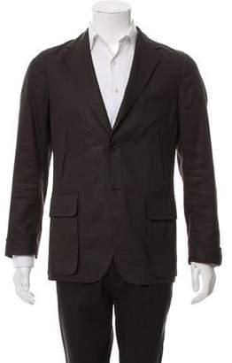Valentino Linen Deconstructed Blazer