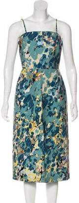 Keepsake Monet Print Sheath Dress w/ Tags