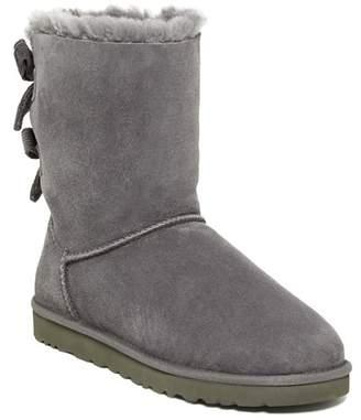 UGG Bailey Bow Corduroy Genuine Shearling Fur Boot