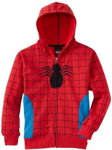 Spiderman Red Blue Costume Halloween Hoodie Sweatshirt