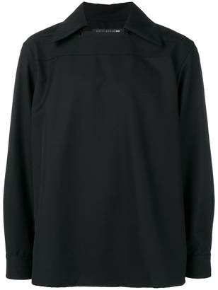 MACKINTOSH 0003 pointed collar sweater
