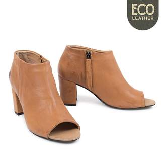 Sneaky Steve Light Brown Eco Women Expose Leather Boots - 41 - Brown/Leather